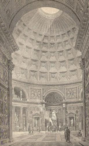 366 réels à prise rapide, pantheon rome